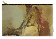 Seated Figure Carry-all Pouch