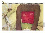 Seated Hula Dancer Carry-all Pouch