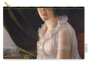 Seated Portrait Of Marie Philippe Claude Walbonne Carry-all Pouch