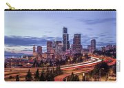Seattle At Dusk Carry-all Pouch