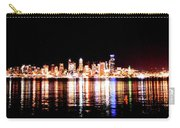 Seattle At Night - From Alki Beach Carry-all Pouch
