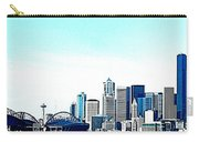 Seattle Blue Carry-all Pouch