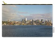 Seattle City Skyline Along Lake Union Carry-all Pouch
