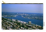 Seattle From Space Needle Carry-all Pouch