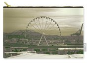 Seattle Great Wheel And Pier 57 Carry-all Pouch