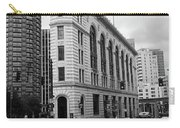 Seattle - Misty Architecture 2 Bw Carry-all Pouch