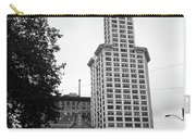 Seattle - Pioneer Square Tower Bw Carry-all Pouch