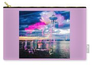Seattle Rose Carry-all Pouch