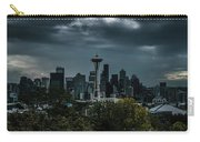 Seattle Skyline - Dramatic Carry-all Pouch