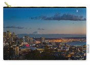 Seattle Skyline Panorama Carry-all Pouch