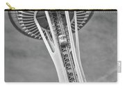 Seattle Space Needle Bw Carry-all Pouch