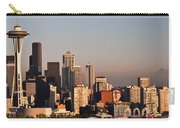 Seattle Sunset Panorama Carry-all Pouch