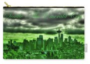Seattle Washington - The Emerald City Carry-all Pouch