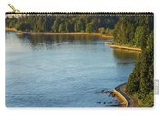 Seawall Along Stanley Park In Vancouver Bc Carry-all Pouch