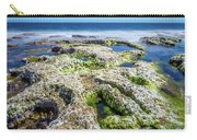 Seaweed And Salt. Carry-all Pouch by Gary Gillette