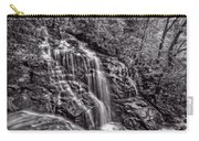 Secluded Falls - Bw Carry-all Pouch