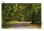 Secluded Forest Road Carry-all Pouch