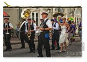 Second Line Wedding On Bourbon Street New Orleans Carry-all Pouch
