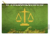 Second Thessalonians Books Of The Bible Series New Testament Minimal Poster Art Number 14 Carry-all Pouch