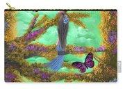 Secret Butterfly Garden Carry-all Pouch