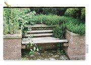 Secret Garden Bench Carry-all Pouch