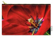 Secret Of The Red Tulip Carry-all Pouch
