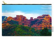 Sedona Arizona Red Rock Carry-all Pouch by Jill Reger