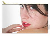 Seductive Woman Carry-all Pouch