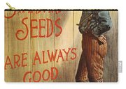 Seed Company Poster, C1890 Carry-all Pouch