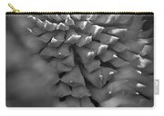 Seed Pod Black And White Carry-all Pouch
