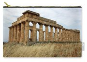 Segesta Greek Temple In Sicily, Italy Carry-all Pouch