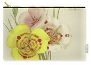 Sego Lily   Calochortus Carry-all Pouch