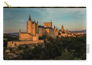 Segovia Alcazar And Cathedral Golden Hour Carry-all Pouch
