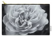 Selenium White Rose Carry-all Pouch