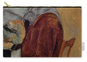 Self Portrait Carry-all Pouch by Amedeo Modigliani