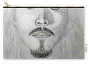Self-portrait Drawing Carry-all Pouch