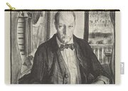 Self-portrait, First State By George Bellows 1882-1925 Carry-all Pouch