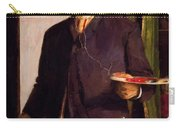 Self Portrait In Studio 1893 Carry-all Pouch
