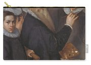 Self Portrait Of The Painter And His Family Carry-all Pouch
