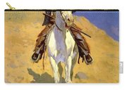 Self Portrait On A Horse 1890 Carry-all Pouch