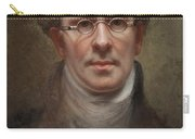 Self Portrait Carry-all Pouch by Rembrandt Peale