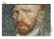 Self-portrait Carry-all Pouch by Vincent Van Gogh