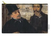 Self Portrait With Evariste De Valernes Carry-all Pouch