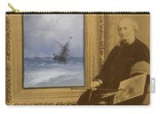 Self Portrait With Seascape Carry-all Pouch