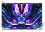 Self Reflection - Purple Blue Carry-all Pouch