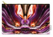 Self Reflection - Purple Orange Carry-all Pouch