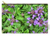 Selfheal In The Lawn Carry-all Pouch
