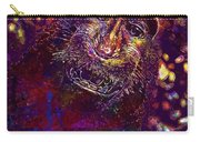 Selfie Monkey Self Portrait  Carry-all Pouch