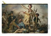 Selfie, Stupidity Leading The People Carry-all Pouch
