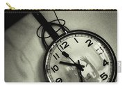 Selfportrait On A Clock Carry-all Pouch
